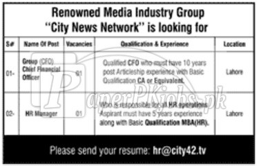 City News Network City42 Jobs 2017