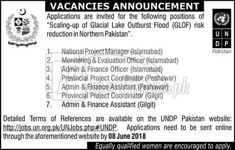 UNDP Pakistan Jobs 2018