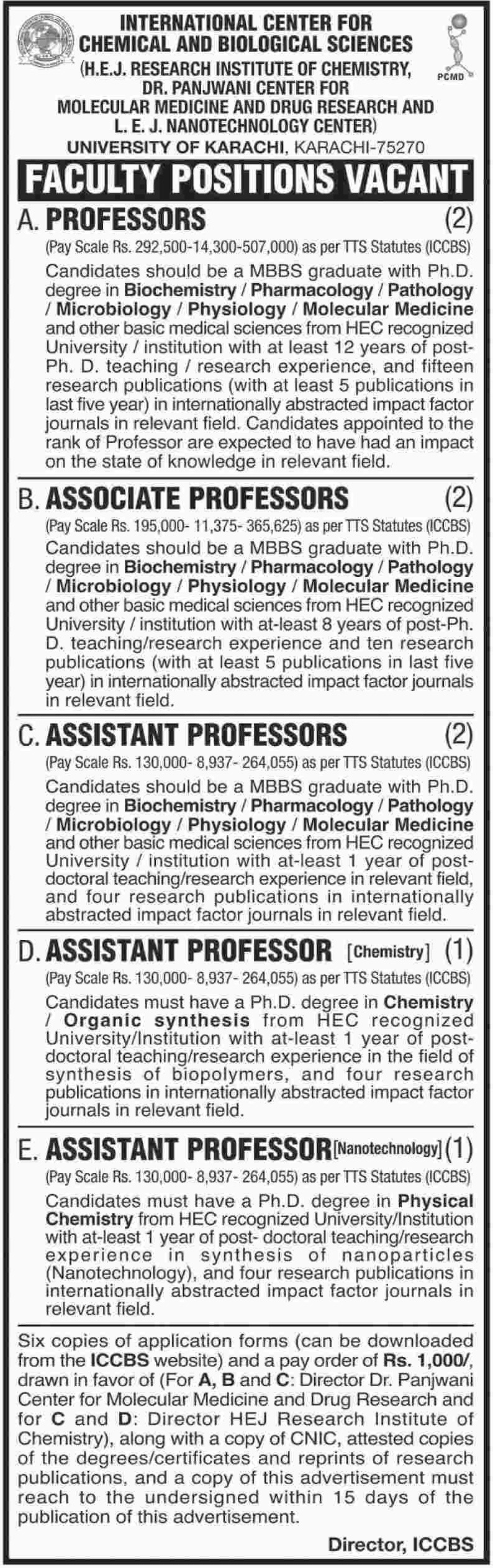 University of Karachi Latest Jobs 2018