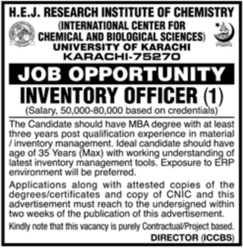 University of Karachi Jobs 2019 Sindh Latest