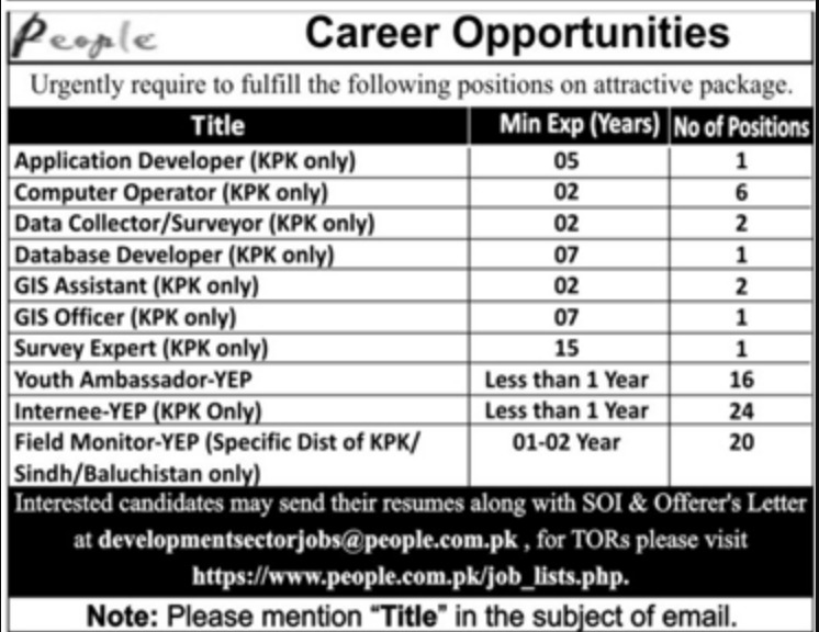 Professional Employers Private Limited Jobs 2019 Apply Online